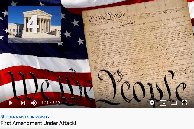 First Amendment Under Attack!