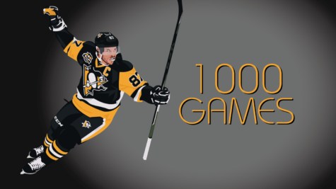Sidney Crosby: 1,000 Hockey Games