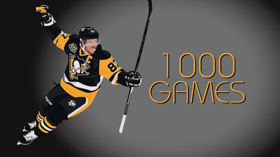 Sidney Crosby: 1,000 Hockey Games