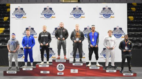 BVU Wrestling's First All-American since 2010; Phillips II finishes in 8th