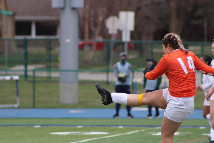 BVU Women's Soccer Compete Against ARC Rivals