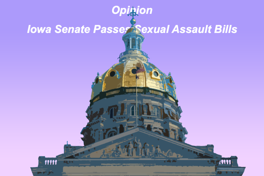 Iowa Senate passes sexual assault bills to the Governor