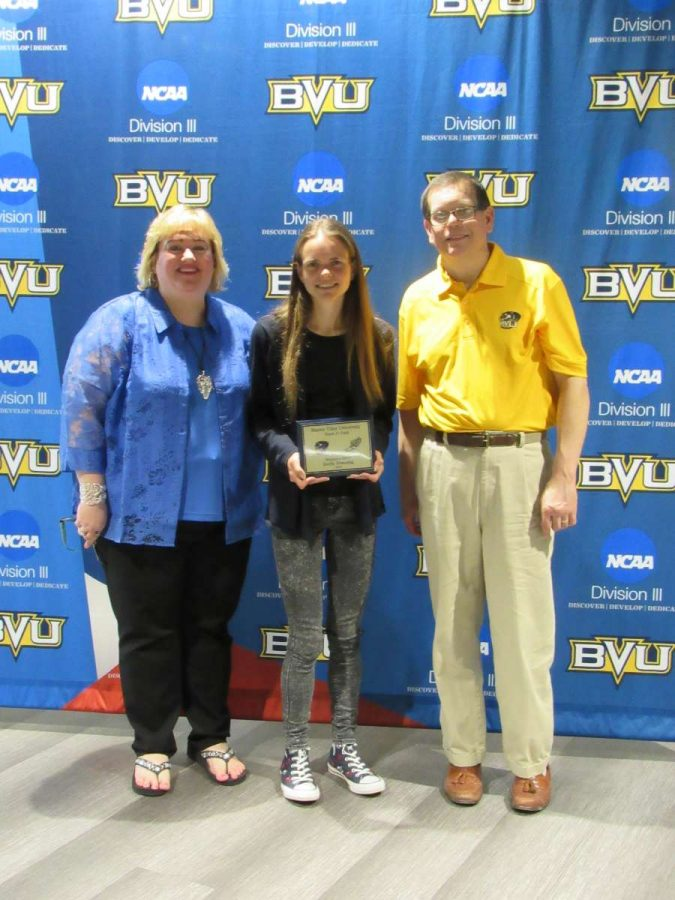 BVU Tennis Commit Now a 5-time Record Holder for the XC/Track Team